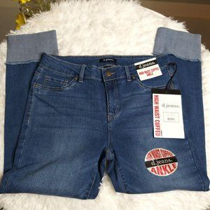 D.Jeans High Waist Cuffed Ankle size 10